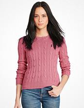 Ralph Lauren Womenswear Julianna Long Sleeve Sweater Laguna Pink