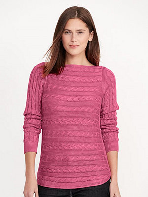 Lauren Ralph Lauren Batell - Long Sleeve Boatneck Peace Rose
