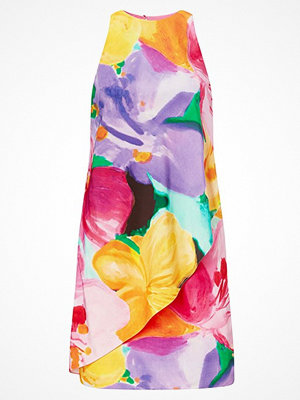 Lauren Ralph Lauren Floral-Print Crepe Dress Multi