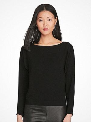 Ralph Lauren Womenswear Ls Jol St-Ls-Shirt Polo Black