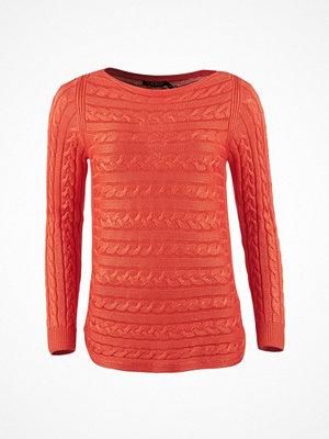 Lauren Ralph Lauren Batell - Long Sleeve Boatneck Sunset Orange