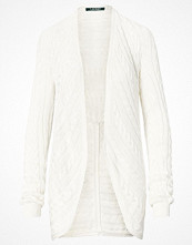 Lauren Ralph Lauren BELANIO - L/S OPEN FRONT CARDI HERBAL MILK