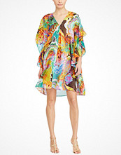 Lauren Ralph Lauren Braedyn - Ss V-Neck Dress Multi