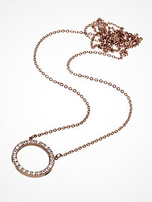 Smycken - Edblad Glow necklace large rose gold