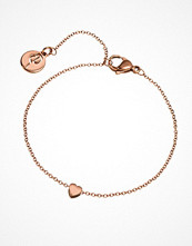 Smycken - Edblad Heart Bracelet Mini Rose Gold