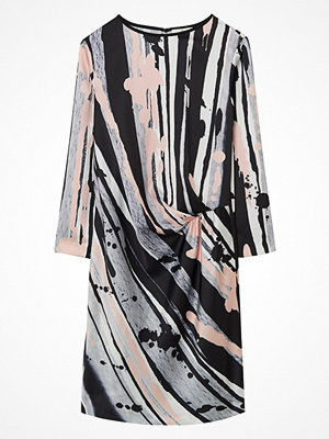 Gant G1. Splash Art Print Drape Dress