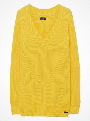 Gant O1. Ribbed Cotton V-Neck