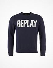 Tröjor & cardigans - Replay Printed Cotton Sweatshirt
