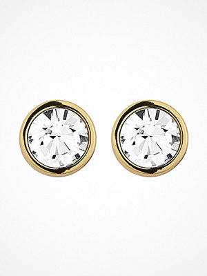 Smycken - Dyrberg&Kern NOBLE EARRINGS GOLD/CRYSTAL