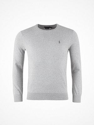 Tröjor & cardigans - Ralph Lauren Long Sleeve-Sweater Andover Heather