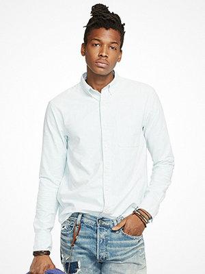 Skjortor - Denim & Supply Solid Oxford Stripe Pocket Shirt VINSON