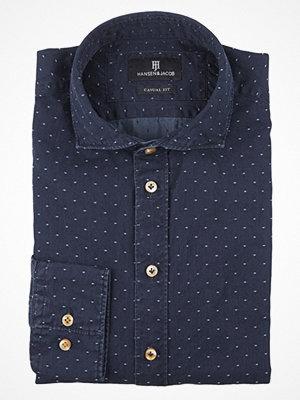Skjortor - Hansen & Jacob Denim Dot Shirt