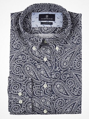 Skjortor - Hansen & Jacob Paisley Print Shirt