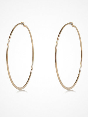 River Island örhängen Gold tone oversized hoop earrings