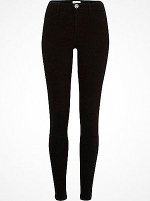 River Island Black Molly reform jeggings