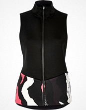 River Island RI Active black print sports gilet