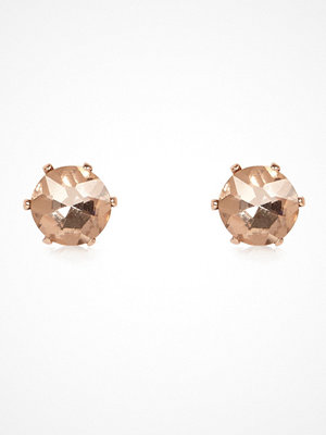 River Island örhängen Rose Gold tone sparkly gem stud earrings