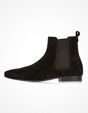 Boots & kängor - River Island Black suede Chelsea boots