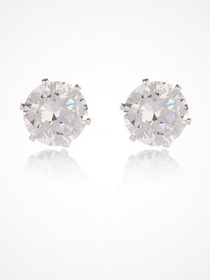 River Island örhängen Cubic zirconia Silver tone gem stud earrings