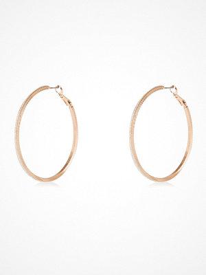 River Island örhängen Rose Gold tone hoop earrings