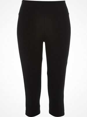 River Island Black pedal pusher leggings