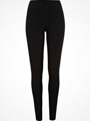 Leggings & tights - River Island Black jersey high rise extra long leggings
