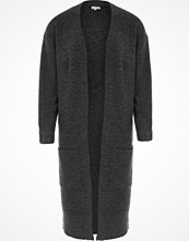 River Island Charcoal longline ribbed cardigan