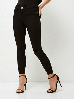 River Island Petite Black Molly jeggings