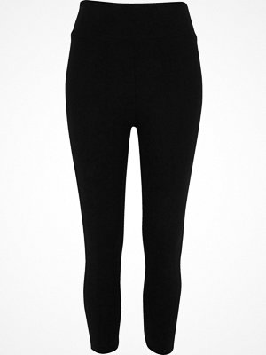 River Island Black high rise capri leggings
