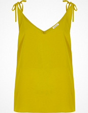 River Island Lime green bow shoulder cami top