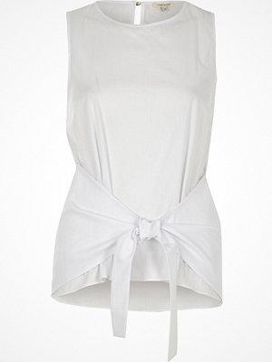 River Island Whitetie knot vest top