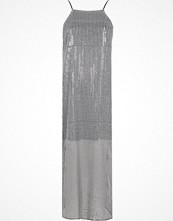 River Island Silver sequin maxi cami slip dress