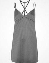 River Island Grey T-bar strappy mini dress