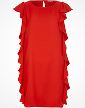 River Island Red frill side sleeveless shift dress