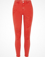 Jeans - River Island Red Amelie super skinny fit jeans