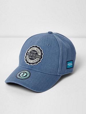 Mössor - River Island Light blue American Freshman cap