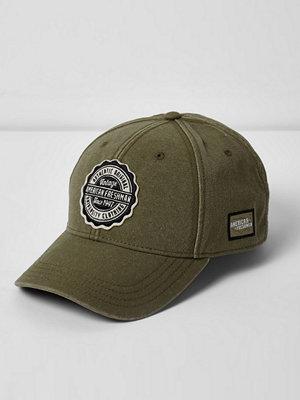 Mössor - River Island Dark green American Freshman cap