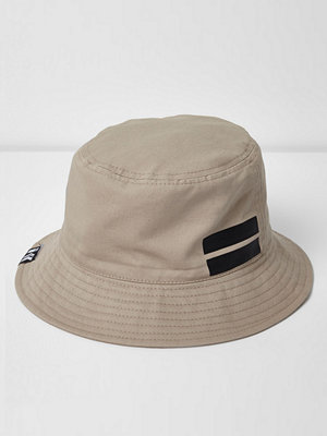 River Island Stone sporty bucket hat
