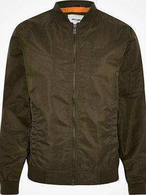 Jackor - River Island Dark green Only & Sons bomber jacket