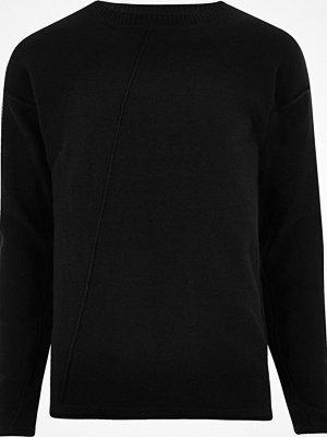 Tröjor & cardigans - River Island Black Only & Sons knit jumper