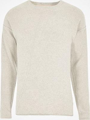 Tröjor & cardigans - River Island Stone Only & Sons knit jumper