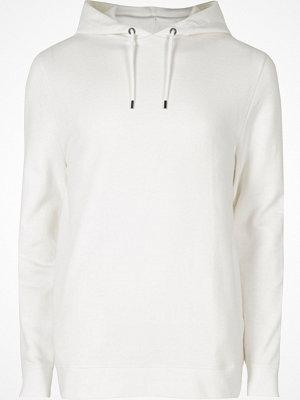 Street & luvtröjor - River Island White long sleeve hoodie