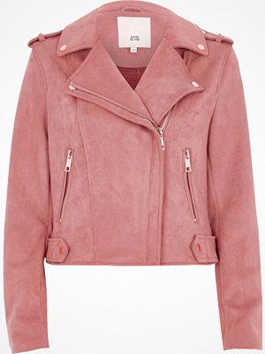 River Island Pink biker jacket