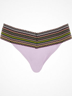 River Island Light purple bandage bikini bottoms