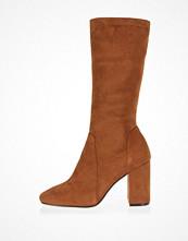 River Island Light brown stretch calf high boots