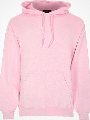 Street & luvtröjor - River Island Pink long sleeve hoodie