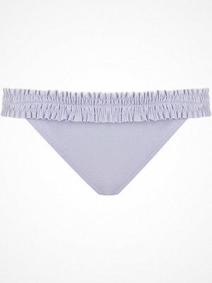 River Island Light purple shirred bikini bottoms