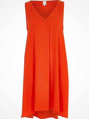 River Island Orange sleeveless swing dress