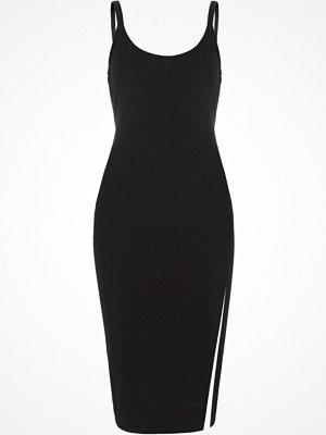 River Island Black hardware cami bodycon dress
