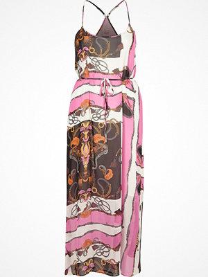 River Island Pink chain print maxi slip dress